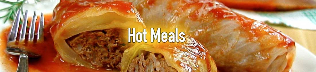 Hot Meals & Food Items