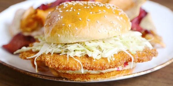 Sandwiches-Schnitzel