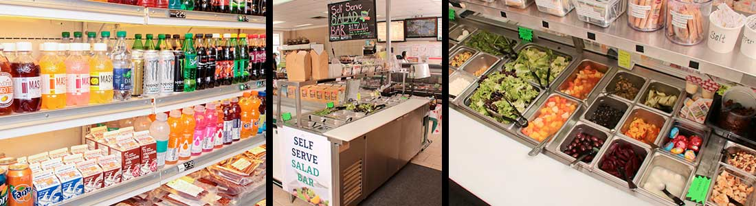 Clover Leaf Farms - Fresh Deli Counter - Soups, Salads, Sandwiches, Meals, Drinks