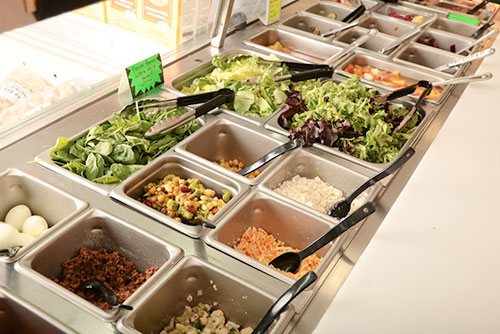 The best and only salad bar west of Waterloo