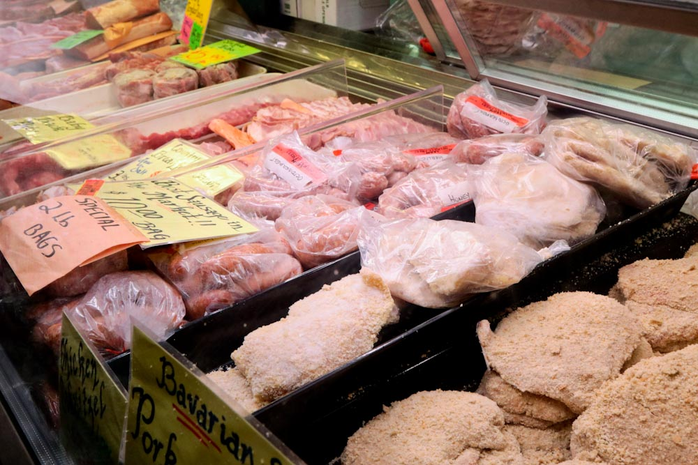 St Jacobs Market - Fresh Meat Counter