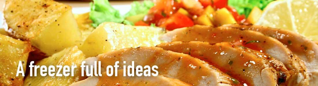 Frozen Food meal ideas - Pork